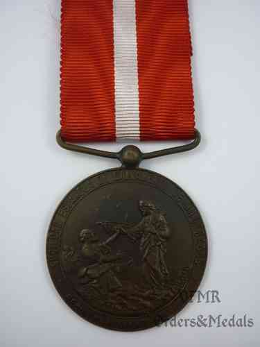 Medal for rescue of shipwrecked
