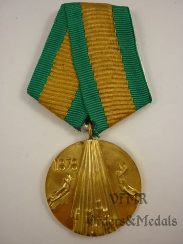 "Bulgária - Medal ""100th Anniversary of Liberation of Bulgaria of Osmanli Slavery"""