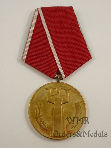 "Bulgária - Medal ""25th Anniversary of People's Power"""