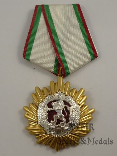 Bulgária - Order of People's Republic of Bulgaria 1st class