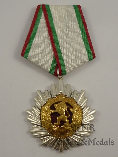 Bulgária - Order of People's Republic of Bulgaria 2nd class