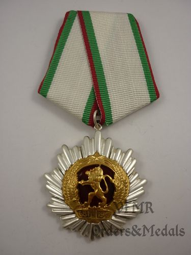 Bulgária - Order of People's Republic of Bulgaria 3rd class