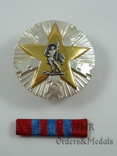 Jugoslávia – Order of Merits for the People 3rd Class