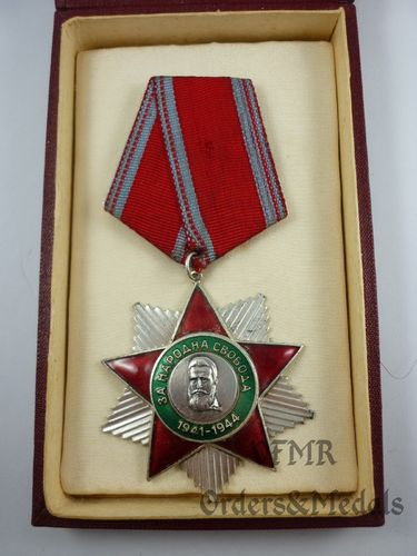 Bulgária - Order of People's Freedom 1941-1944 2nd class