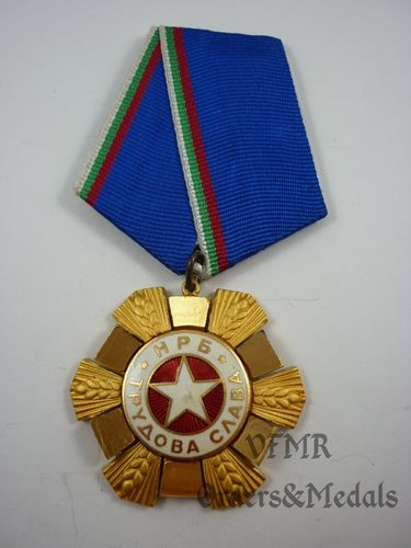 Bulgária - Order of Labor Glory 1st class