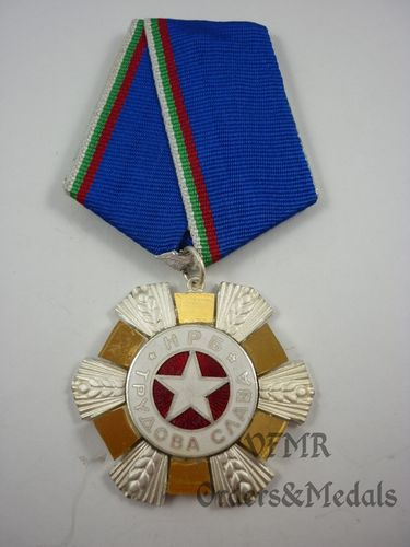 Bulgária - Order of Labor Glory 2nd class