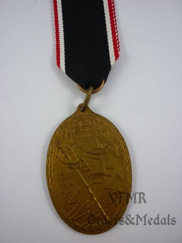 Kyffhauser 1914-1918 War Veterans Commemorative Medal
