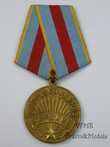 Liberation of Warsaw medal