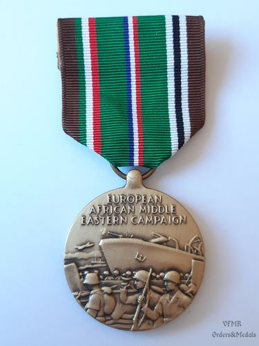 WWII European, african and middle eastern campaign Medal