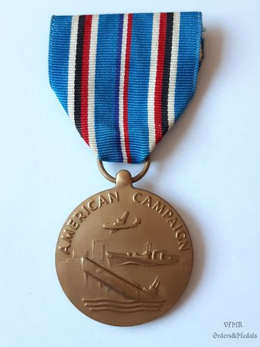 WWII American campaign Medal