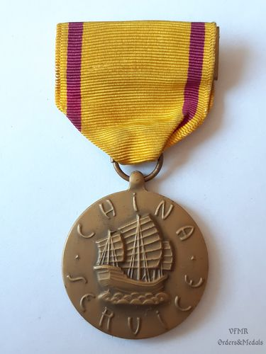 China service medal (Navy)