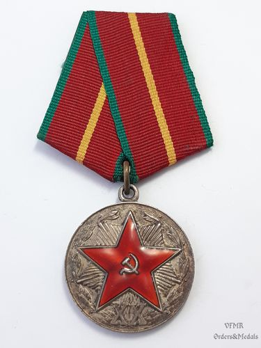 Medal for 20 years irreproachable service in the KGB