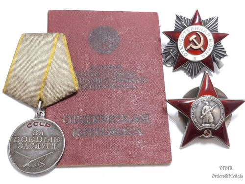 "Soviet ""3th army"" major, researched group"