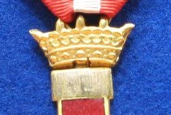 Imperial crown of spanish order of military merit