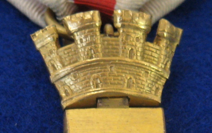 Mural Crown of spanish order of military merit